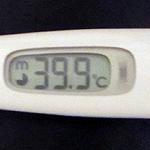 子供が高熱を出した時の基本的な対応