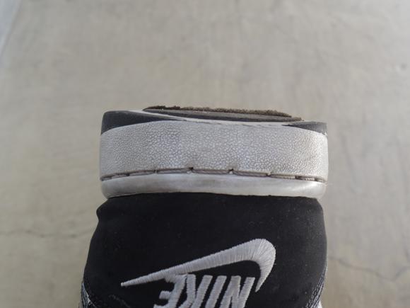 靴の補修材で補修する靴の状態