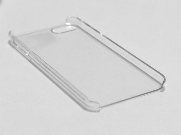 クリスタルカバー iPod touch