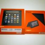 Amazon Fireタブレット8GBブラックが届いたので開封してみました