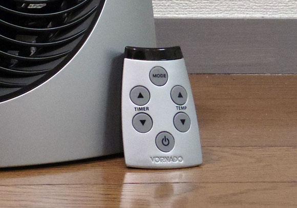VORNADO ファンヒーター iControl-JPのリモコン