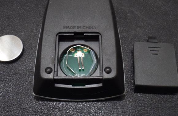 VORNADO ファンヒーター iControl-JPのリモコン電池