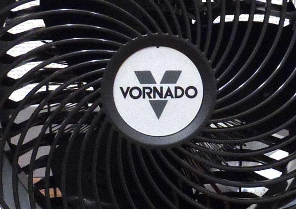 VORNADO ファンヒーター iControl-JPには指が入りづらい