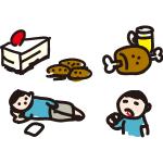 太る悪循環と痩せる習慣を身につける方法