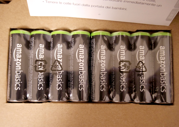 Amazonベーシック 充電式ニッケル水素電池 単3形8個パックを拡大