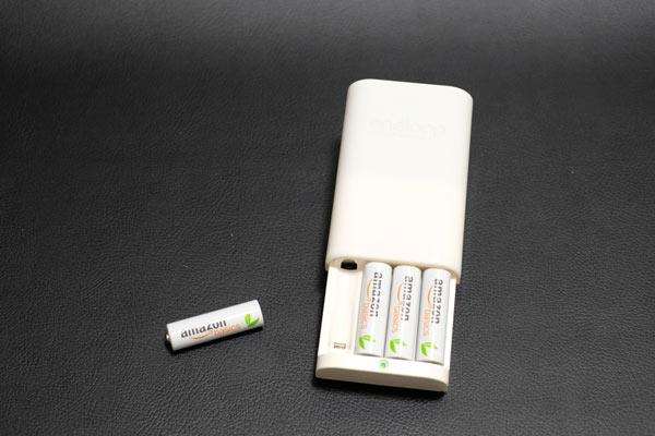 Amazon basicsの充電池