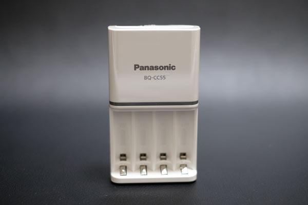 Panasonicの急速充電器BQ-CC55