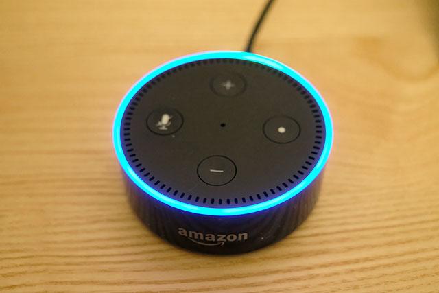 AmazonのスマートスピーカーEcoh