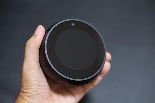 アマゾンのスマートスピーカーEcho Spot