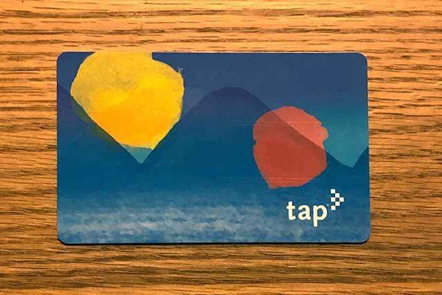 ロサンゼルスの地下鉄TAPカード