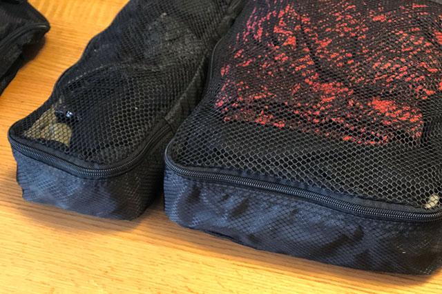 衣類収納トラベルポーチ